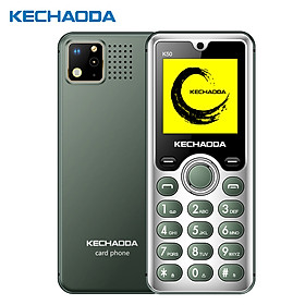 "KECHAODA K50 2G GSM Feature Phone Dual SIM 1.54"" 32MB BT Dialer Rear Camera Flashlight MP3/MP4/FM Mini Mobile Phones for"