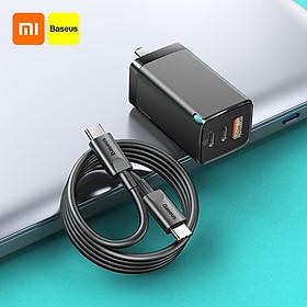 Bộ Sạc Nhanh Xiaomi Baseus 65W Gan2 Pro Pd 4.0 3.0 Type C I Động Qc 4.0 3.0