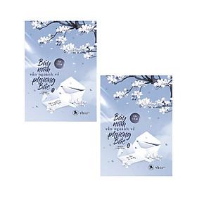 Bộ Sách Bảy Năm Vẫn Ngoảnh Về Phương Bắc (02 Cuốn) - Tặng kèm 3 Postcard diễn viên + Móc Khóa
