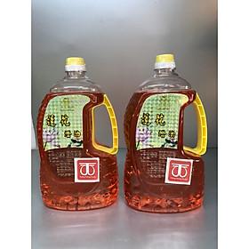 Combo 2 chai Dầu đốt đèn thờ dầu hoa sen chai đỏ 2 lít đủ DA219