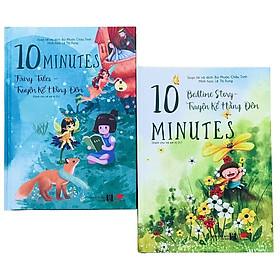 Sách:  Combo Song Ngữ Truyện kể hàng đêm cho bé -10 minute fairy tales và bedtime stories