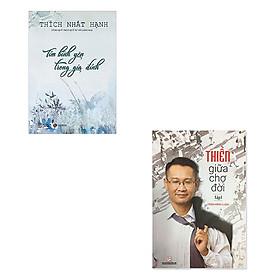 Combo 2 cuốn: Thiền giữa chợ đời ( Tập 1) + Tìm bình yên trong gia đình