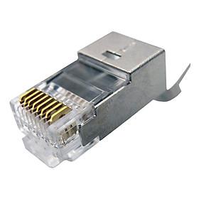 Đầu bấm mạng RJ45 CAT6A-CAT7 cho cáp chống nhiễu FTP & SFTP