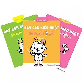 Combo Trọn bộ 3 cuốn dạy con kiểu nhật + Truyện song ngữ bìa mềm nàng tiên thumbelina