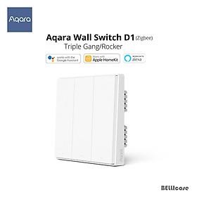Xiaomi Aqara D1 Công Tắc Thông Minh Không Dây Công Tắc Đơn Dây Cháy Không Dây ZigBee Âm Tường Nhà Thông Minh Điều Khiển Ánh Sáng Cho App Mihome
