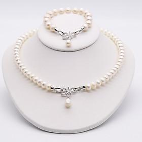 Bộ Trang Sức Ngọc Trai Cao Cấp Pearl BODB-1102 Bảo Ngọc Jewelry