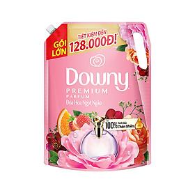Combo 2 Nước xả vải Downy Đóa hoa thơm ngọt ngào túi 2.3L