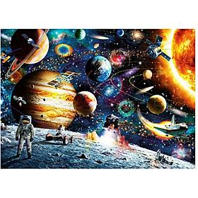 Tranh ghép hình 1000 mảnh Khám phá vũ trụ 50x75cm