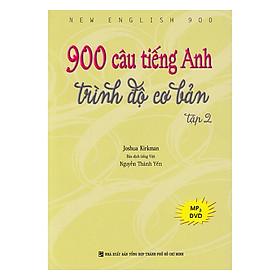 900 Câu Tiếng Anh Trình Độ Cơ Bản - Tập 2 (Kèm file MP3)