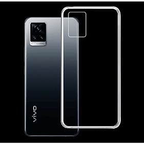 Ốp lưng cho điện thoại VIVO V20 - 01321 - Ốp dẻo trong suốt, ôm khít, bảo vệ điện thoại - Hàng Chính Hãng