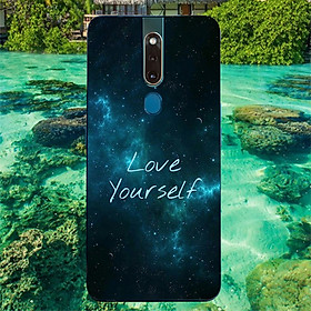 Ốp điện thoại dành cho máy Oppo F11 Pro - love yourself MS ACJTU009