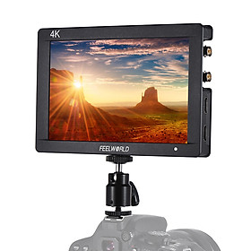 Hình đại diện sản phẩm Feelworld F7S 7Inch 1920 X 1200 Ips Camera Field Monitor Hd 3G-Sdi Input Output Support 4K Signal 1200:1 High Contrast