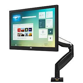 Giá đỡ màn hình máy tính Nhập khẩu NB F85A 22-32inch, tích hợp cổng USB