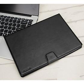 Bao da dạng ví có ngăn đựng thẻ, đựng tiền, quai gập cho Samsung Galaxy Tab A7 10.4 (2020) T500/T505 - Hàng chính hãng HanMan