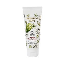 Sữa rửa mặt dưỡng ẩm cao cấp chiết xuất nhàu Cana Premium Noni Moisture Cleansing Foam 148ml