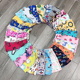 Set 10 quần đùi dễ thương cho bé ( bé trai và bé gái ) SE29
