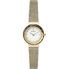 Skagen Women's Leonora Steel-Mesh Quartz Watch