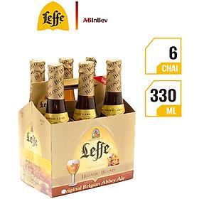 Lốc 6 Chai Bia Leffe Blonde (330ml)