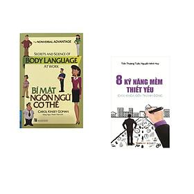 Combo 2 cuốn sách: Bí Mật Ngôn Ngữ Cơ Thể + 8 kỹ năng mềm thiết yếu