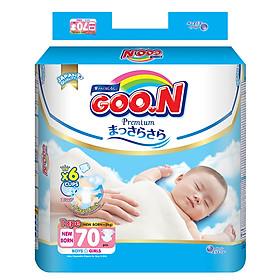 Tã dán GOO.N Premium Super Jumbo Newborn 70