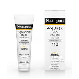 Kem chống nắng Neutrogena Age Shield Face Oil-Free Lotion Sunscreen SPF110 88ml