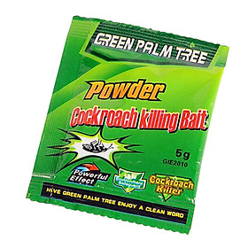 Cockroaches Traps Paper Clear Cockroach Powder Practical Light Yellow 1pack Repellent Car