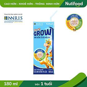 Thùng 48 hộp Sữa Bột Pha Sẵn NUVI GROW 180ml