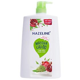 Sữa Tắm Dưỡng Sáng Da Hazeline Matcha Lựu Đỏ 67146043 (1200g)