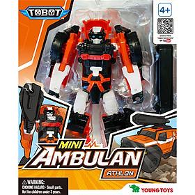 Đồ Chơi Lắp Ráp Young Toys - Mini Tobot Ambulan