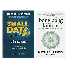 Combo Sách Kinh tế Học :  Dữ Liệu Nhỏ + Bong Bóng Kinh Tế Và Làn Sóng Vỡ Nợ Quốc Gia
