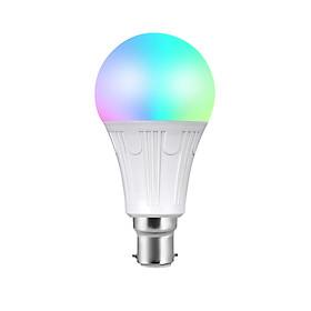 Bóng Đèn LED RGB+W Thông Minh Điều Khiển Từ Xa Bằng Wifi Điện Thoại Tương Thích Alexa V12 E27 (11W)