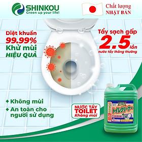 Nước Tẩy Rửa Toilet Mitsuei không mùi - Rửa sạch nhà vệ sinh, gạch men, vết ố vàng (5kg)
