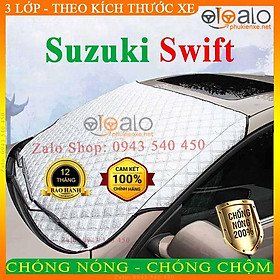 Bạt Phủ Ô Tô Suzuki Swift Cao Cấp 3 Lớp Chống Nắng Nóng Chống Nước Chống xước | OTOALO