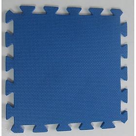 Thảm Chống Trơn Cho Bé Trơn 30cmx30cm màu xanh dương