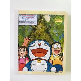 Sách gỗ ghép hình - Combo 2 cuốn sách gỗ ghép hình cho bé 1 tuổi Gnu08