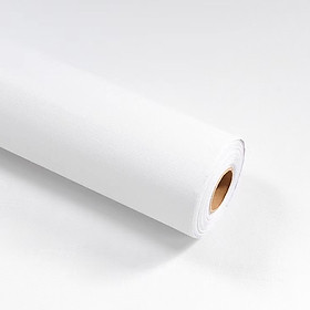 Cuộn 5m Decal Giấy Dán Tường màu trắng nhám (5m dài x 0.45m rộng)