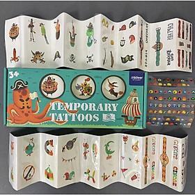 Mideer Temporary Tattoo - Miếng dán trang trí dán lên da được có 2 mẫu cho bé lựa chọn