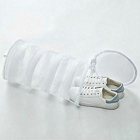 Túi lưới giặt đồ cao cấp bảo vệ giầy, đồ lót có móc phơi