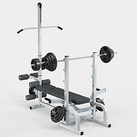 Giàn ghế tập tạ đa năng điều chỉnh độ dốc Gymlink New Pro GY-1212