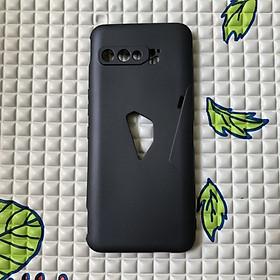 Ốp lưng cho Rog Phone 3 dẻo đen