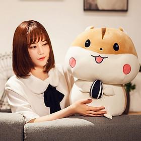 Gấu Bông Chuột Hamster 40cm TNB01 Ngộ Nghĩnh Và Đáng Yêu Màu Nâu