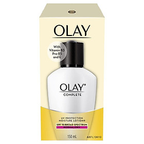 Olay Complete UV Protection Moisturiser Lotion Normal/Dry SPF15 150mL