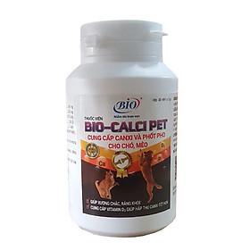 Viên uống cung cấp canxi và phốt pho cho thú cưng