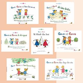 Gư- ri , Gư- ra du ký - Series 7 cuốn Ehon Gư-ri và Gư-ra kích thích khả năng quan sát của bé.