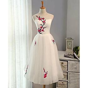 Đầm xoè thêu hoa đào TRIPBLE T DRESS - size M/L(kèm ảnh/video thật) MS140Y