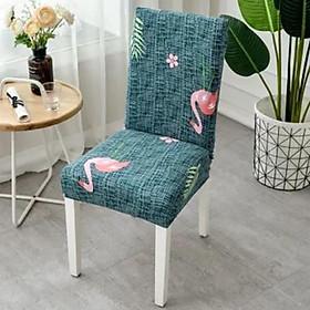 Bọc ghế ăn, mềm mịn chuẩn form, dùng cho ghế đơn bàn ăn