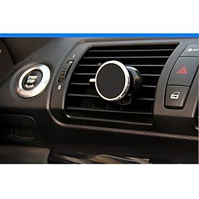 Giá đỡ điện thoại hút nam châm SIÊU BỀN XOAY 360 độ gắn máy lạnh oto, xe hơi loại chân cắm ( giao màu ngẫu nhiên)