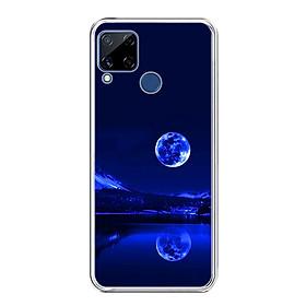 Ốp lưng dẻo cho điện thoại Realme C15 - 0269 MOON02 - Hàng Chính Hãng