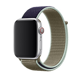 Nylon Watch Strap Adjustable Watch Band For Đồng hồ Apple iWatch 5,4,3,2,1, Đồng hồ Apple Sport -  38mm 40mm 42mm 44mm