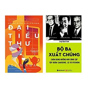 Combo Sách :  Giới Siêu Giàu Châu Á 2 - Đại Tiểu Thư + Bộ Ba Xuất Chúng Hàn Quốc